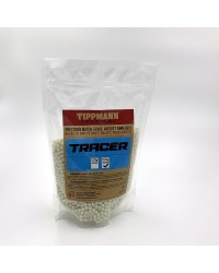 TIPPMANN 0.25G COMPETITION 6MM TRACER BB'S - 12 x 1KG BAGS 48000 BB'S - BULK BOX DEAL