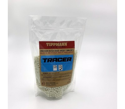 TIPPMANN 0.25G COMPETITION 6MM TRACER BB'S - 1KG BAG 4000 BB'S