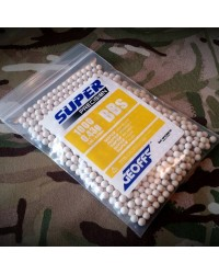 GEOFFS SUPER PRECISION 0.43G 6MM BB'S - 1000 ROUNDS