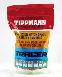 TIPPMANN 0.28G COMPETITION 6MM TRACER BB'S - 12 x 1KG BAGS 42840 BB'S - BULK BOX DEAL