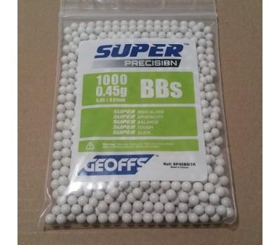 GEOFFS SUPER PRECISION 0.45G 6MM BB'S