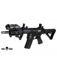 DUEL CODE SAN DIEGO AEG BATTLE RIFLE - BLACK