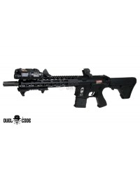 DUEL CODE DENVER AEG BATTLE RIFLE - BLACK
