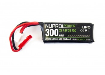 NUPROL 7.4V 300MAH 35C HPA MICRO TYPE
