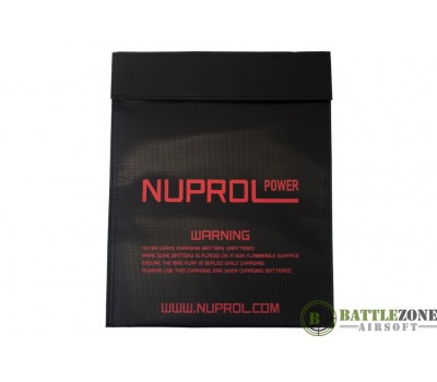 NUPROL LIPO BATTERY CHARGING BAG