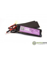 9.9V 1500MAH 25C NUNCHUCK TYPE LIFE BATTERY