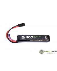NUPROL 7.4V 1100MAH 20C STICK TYPE LIPO BATTERY