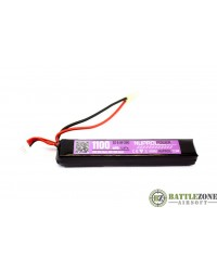 9.9V 1100MAH 20C STICK TYPE LIFE BATTERY