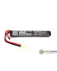 7.4V 1450MAH 30C STICK TYPE LIPO BATTERY
