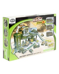 ARMY GARAGE - INCLUDES CARS