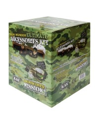 KIDS ARMY CAMO BEDROOM ACCESSORIES KIT - 5PCS