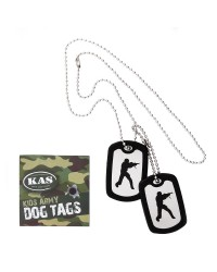 KIDS ARMY SOLDIER DOG TAGS
