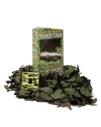 KIDS ARMY CAMO NET AND LIGHT SWITCH COVER