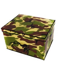 CAMOUFLAGE FOLD AWAY TOY BOX