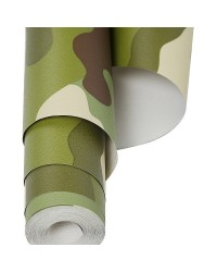 10M ROLL OF CAMOUFLAGE WALLPAPER