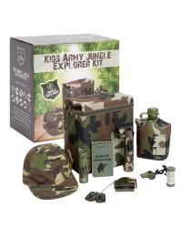 KIDS ARMY JUNGLE EXPLORER KIT