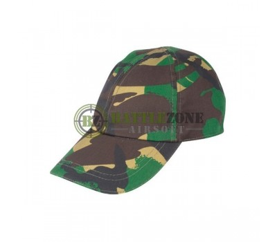 KIDS CAMOUFLAGE CAP - WOODLAND CAMO
