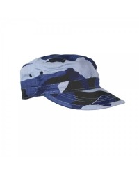 BLUE CAMOUFLAGE ARMY CAP