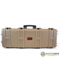 NUPROL LARGE HARD CASE - TAN - WAVE FOAM