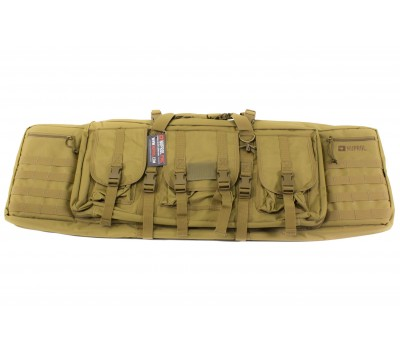"""NUPROL PMC DELUXE SOFT RIFLE BAG 42"""" - TAN"""