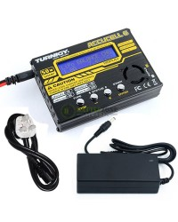 TURNIGY ACCUCEL 6 50W DIGITAL BALANCE CHARGER 5A WITH PSU