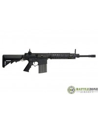 ARES AMOEBA SR25 CARBINE DMR WITH EFCC - BLACK