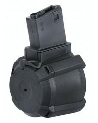 BATTLEAXE M4 1200 ROUND ELECTRIC DRUM MAGAZINE - BLACK