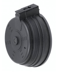 BATTLEAXE AK 3500 ROUND ELECTRIC DRUM MAGAZINE - BLACK