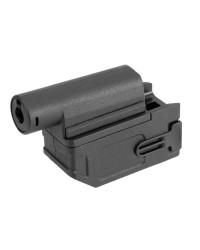BATTLEAXE M4 MAGAZINE ADAPTER FOR M870 SHOTGUNS - BLACK