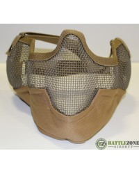 FULL LOWER MESH MASK - TAN