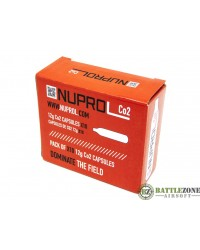 NUPROL CO2 CAPSULES 12G - 10 PACK