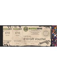 BATTLEZONE GIFT VOUCHER - £10