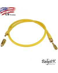 BALYSTIK DELUXE REMOTE LINE FOR HPA REGULATOR - GOLD - US