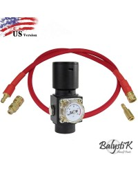 BALYSTIK HPR800C V3 REGULATOR WITH AIRLINE US - RED