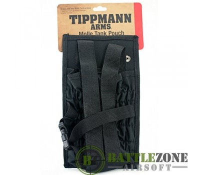 TIPPMANN MOLLE TANK POUCH - BLACK