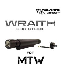 WOLVERINE MTW WRAITH CO2 STOCK FOR MTW, INCLUDES STORM IN BUFFER REGULATOR