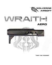 WOLVERINE MTW WRAITH AERO STOCK FOR MTW, INCLUDES STORM IN BUFFER REGULATOR