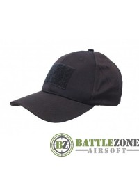 NUPROL COMBAT CAP WITH VELCRO - BLACK