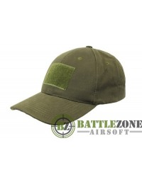 NUPROL COMBAT CAP WITH VELCRO - OD GREEN