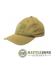 NUPROL COMBAT CAP WITH VELCRO - TAN
