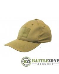 NUPROL COMBAT CAP WITH VELCRO - TAN