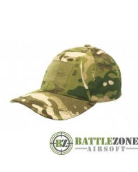 NUPROL COMBAT CAP WITH VELCRO - MULTICAM
