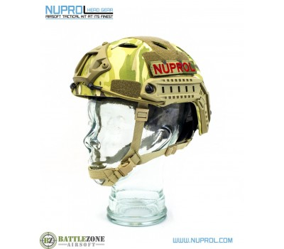 NUPROL FAST HELMET RAILED - MULTICAM