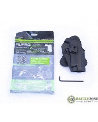 NUPROL F SERIES HOLSTER - BLACK