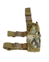 BIG FOOT UNIVERSAL TORNADO DROP LEG PISTOL HOLSTER - RIGHT HANDED - CAMO