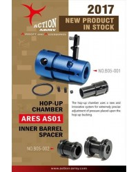 ACTION ARMY HOP UP CHAMBER FOR ARES STRIKER AS01 / AS02