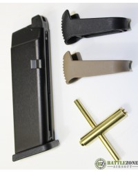 WE GLOCK G17 - G18 - EU17 - EU18 SERIES CO2 MAGAZINE KIT