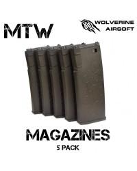 WOLVERINE AIRSOFT MTW MAGAZINE - 5 PACK