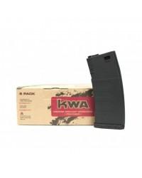 KWA K120 POLYMER M4 MID CAP MAGAZINE 6 PACK