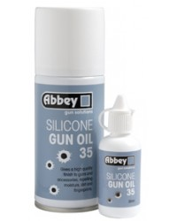 ABBEY SILICONE GUN OIL 35 DROPPER BOTTLE